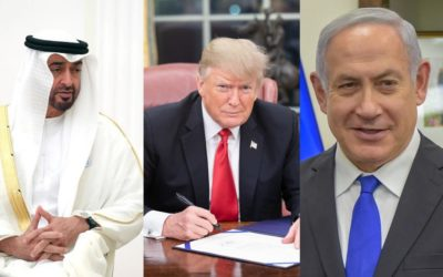 Strengthening of normalization process of Israel after agreement with the UAE