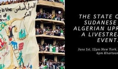 The Arab Spring Lives on in Algeria, an interview with Hamza Hamouchene