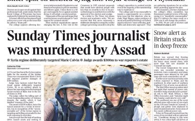 Accountability for Assad's Murder of Marie Colvin: A Precedent for Justice?