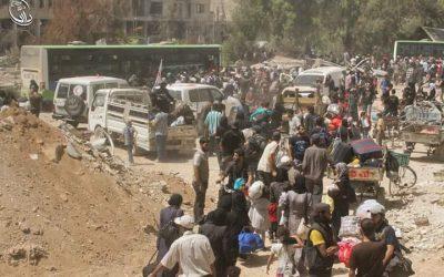 استراتيجيات التغيير الديمغرافي في سوريا
