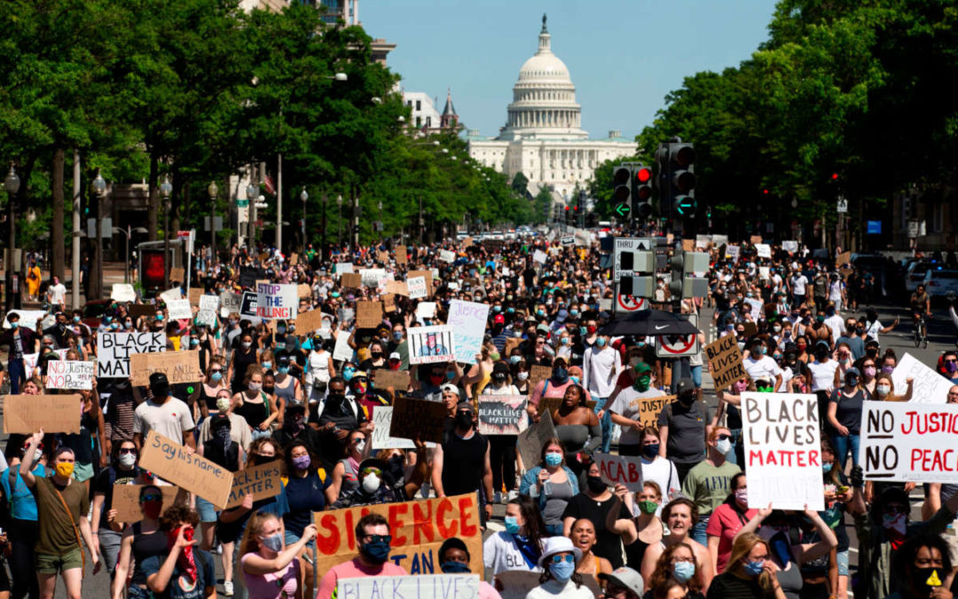 Standing With Black Lives Matter Protests: Opposing Police Brutality, Militarism, and All Forms of State Violence