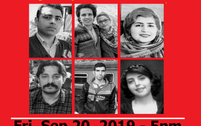Join International Protest Gatherings Against Mass Sentencing of Labor Activists and Journalists in Iran