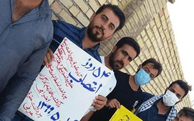 تداوم اعتصابات سراسری در مراکز نفتی و صنعتی؛ پنجاه و پنجمین روز اعتصاب کارگران نیشکر هفت تپه