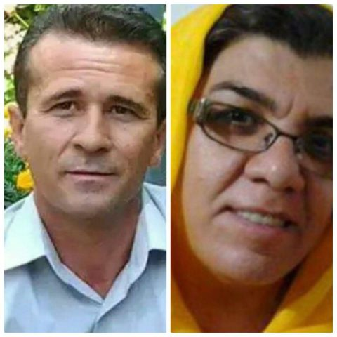 Free Iranian Labor Leaders, Jafar Azimzadeh and Parvin Mohammadi