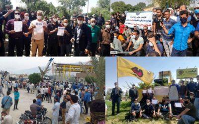 حمایت کارگران، معلمان، دانشجویان و بازنشستگان از اعتصاب سراسری کارگری