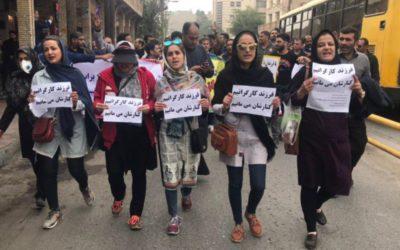 گاهشمار تحلیلی اعتصابها و اعتراضها