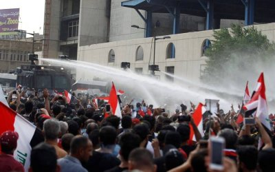 Solidarity with Iraq Popular Protests:  Statement from Alliance of MENA Socialists