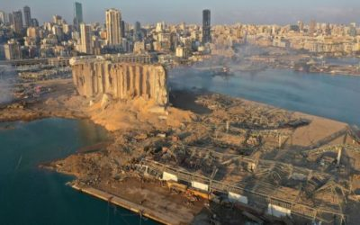 بیروت در میان «دریایی از خون و ویرانی» و شعار «بیروت پایتخت انقلاب»!