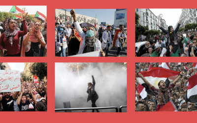 Solidarity with the MENA 2019 Uprisings:  Statement by Alliance of MENA Socialists