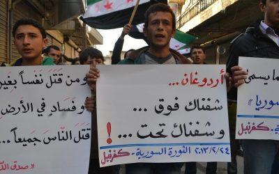 كل التضامن مع عفرين والغوطة وإدلب، ضد كل الهجمات العسكرية