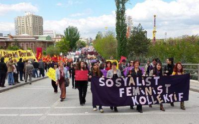 مصاحبه با یک فمینیست سوسیالیست از کشور ترکیه
