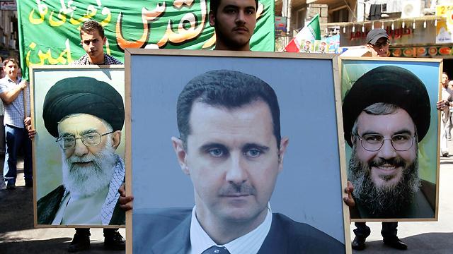 مسأله سوریه: ایران، حزبالله، فلسطین