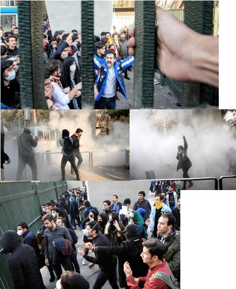 اعتراضات در ایران:  یک نقطه عطف؟
